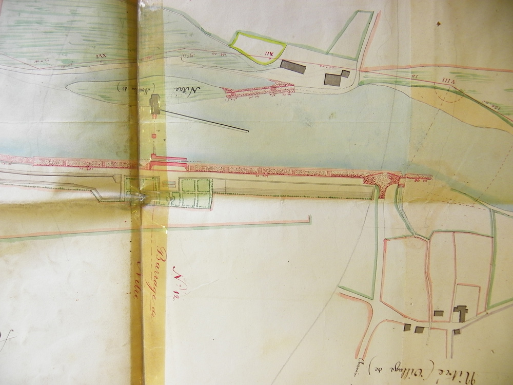 Nitray plan du projet de construction de barrage