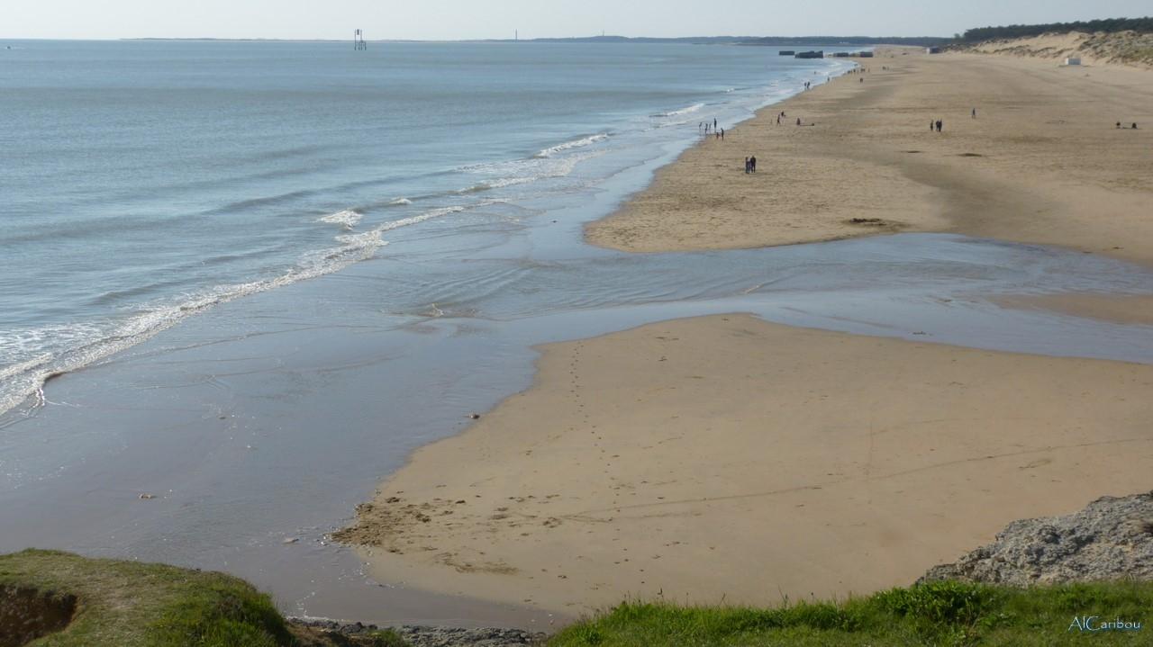 La plage de la Grande Côte
