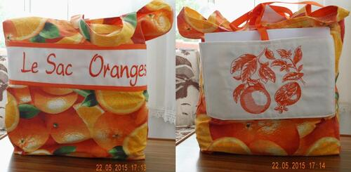 Le voyage du sac orange