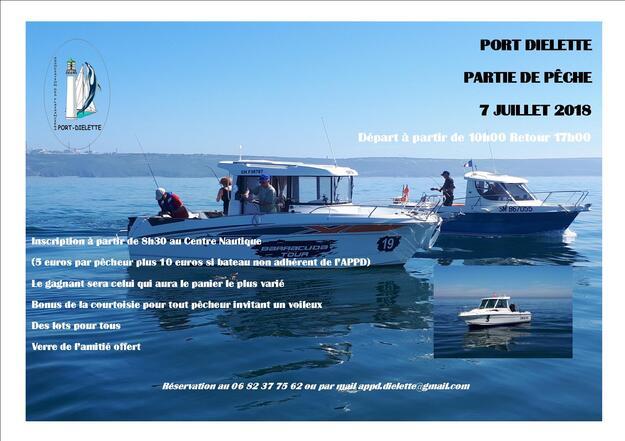 """Samedi 7 juillet à Diélette, partie de ^pêche """"privilégiez la qualité à la quantité"""""""
