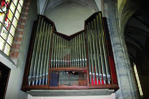 De l'ancien au nouvel orgue de l'église Saint-Nicolas d'Enghien