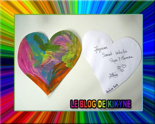 Carte coeur Saint-Valentin