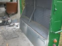 Démontage de la protection caisse arrière