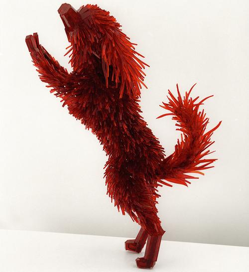 Marta Klonowska et ses sculptures en éclats de verre