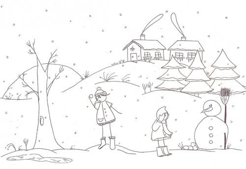 Projet autour de l'hiver