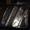 séance de tôlerie pour la re-fabrication d'une cuvette