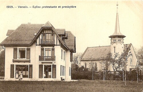 Eglise Protestante et Presbytère