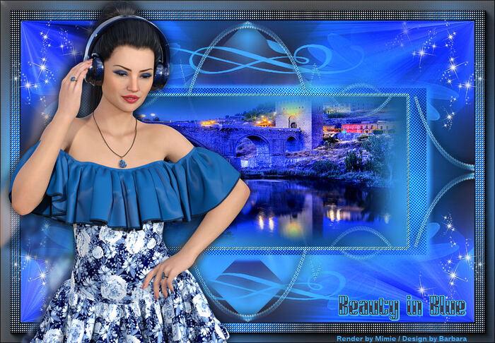 Beauty in Blue