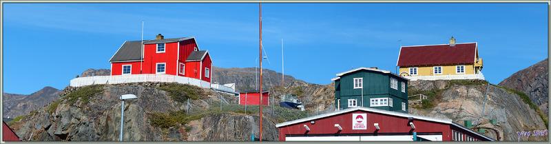 Habitations - Sisimiut - Groenland