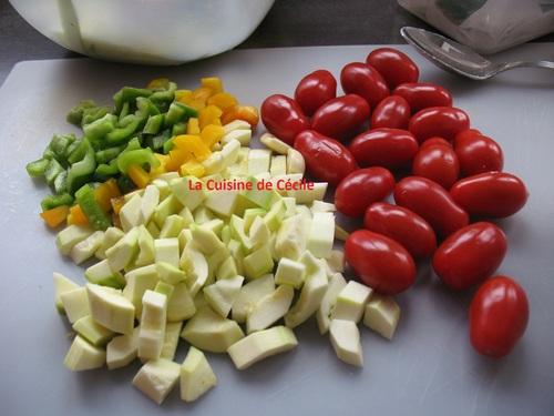 Gratin de Cabillaud aux légumes