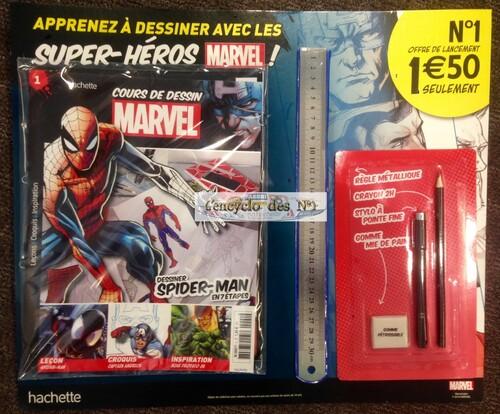 N° 1 Cour de dessin Marvel - Test