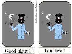 Flashcards good night