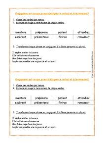 La formation des verbes