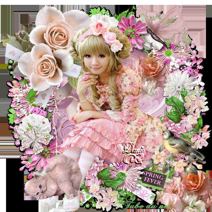 Défi fleurs pour Maryse .. forum