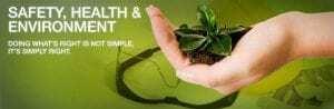 ایمنی بهداشت و محیط زیست hse