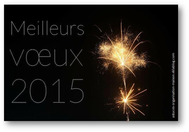 Meilleurs vœux 2015 !
