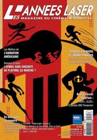 """Les Années Laser N° 257 novembre 2018 """"Magazine"""""""