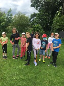 Initiation au golf pour les CE1