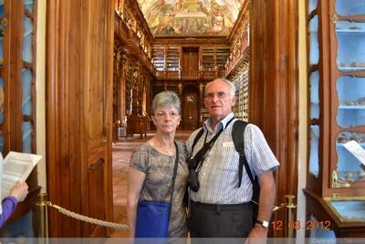 LE MONASTERE DE STRAHOV -PRAGUE