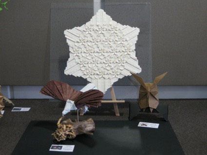 Expo d'Origami de Michel LUCAS