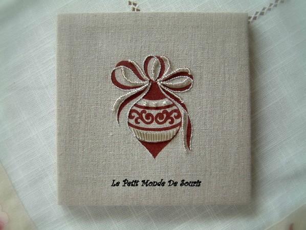 Boule de Noël - Kit Rico Design