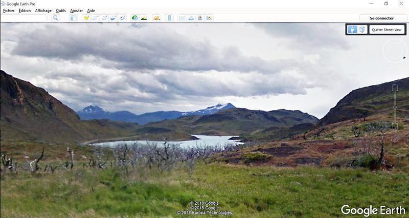Vestiges d'incendie autour du Lago Pehoe - Parque Torres del Paine - Patagonie - Chili