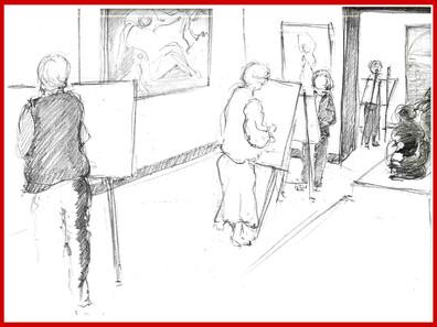 Ateliers de dessin adultes