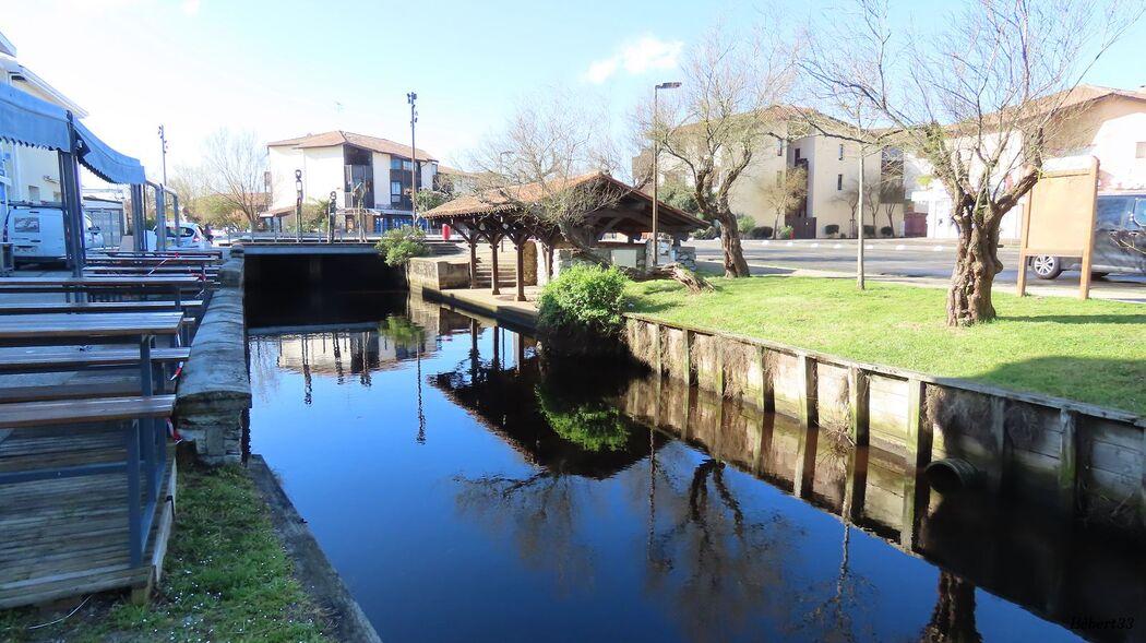 reflets au Vieux Boucau -3