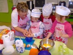 Atelier-cuisine : le gâteau au potiron