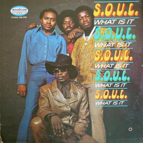 "1971 : Album "" What Is It "" Musicor Records MS 3195 [ US ]"