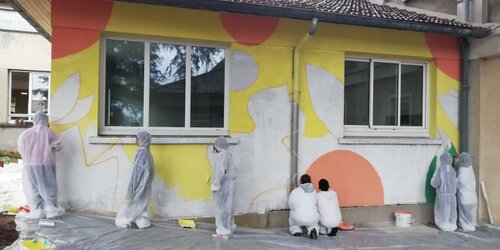 projet fresque