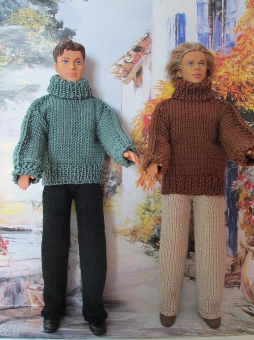 Pull et pantalon pour Ken