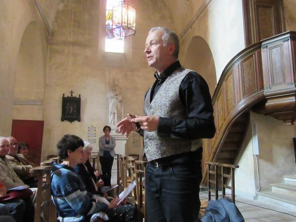 """""""Orgues, Musique et Voix"""", et la Ville de Châtillon sur Seine, ont proposé un superbe concert d'orgue dans l'église Saint-Pierre  pour fêter sa rénovation"""