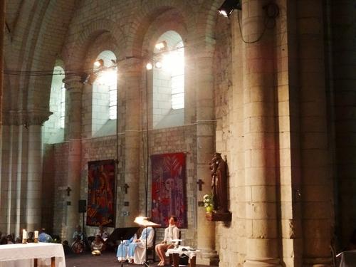 Saintes: l'Abbaye aux Dames (photos)