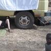Burkina Bomborokuy réparation réservoir du camion