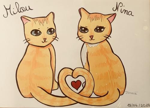 Milou et Nina