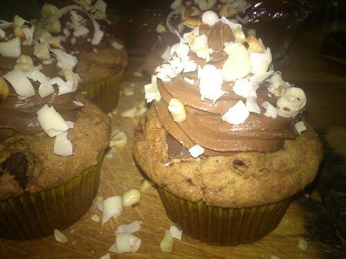 Cupcakes façon Browkies pour le concours de Cupcakes