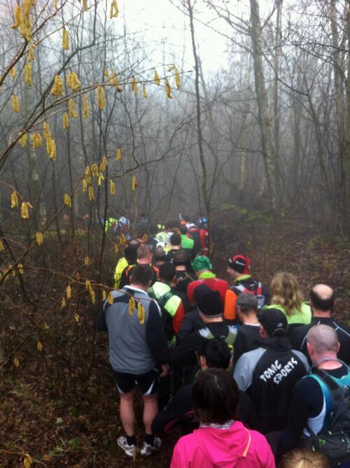 Le trail des Givrés