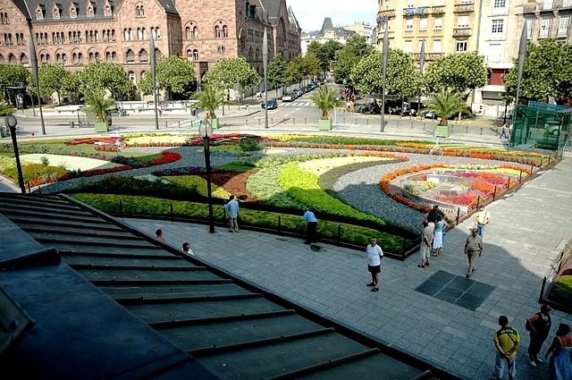 Tapis floral de Metz 2 Marc de Metz 23 03 2013