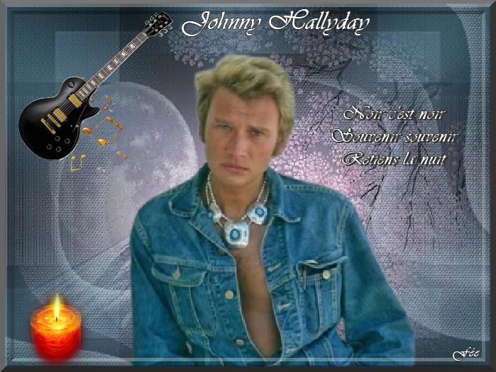 """Johnny Hallyday """"Noir c'est noir"""" & Souvenir souvenir & Retiens la nuit"""