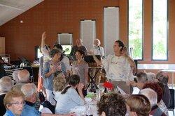 Fraternité, convivialité au repas Malgache du 06 Octobre à Montmaur