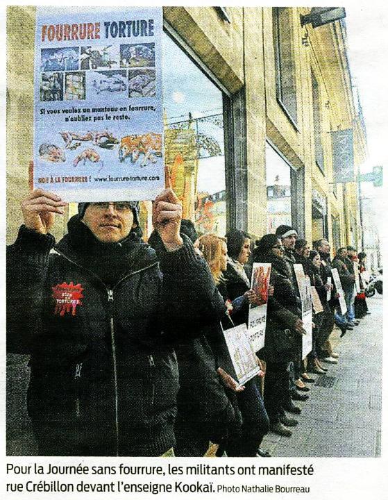 Presse océan - Journée sans fourrure