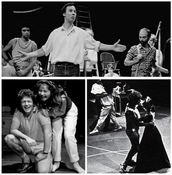 Répétitions - Les Misérables 1985