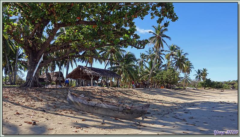 Débarquement sur une plage de Grande Mitsio - Madagascar