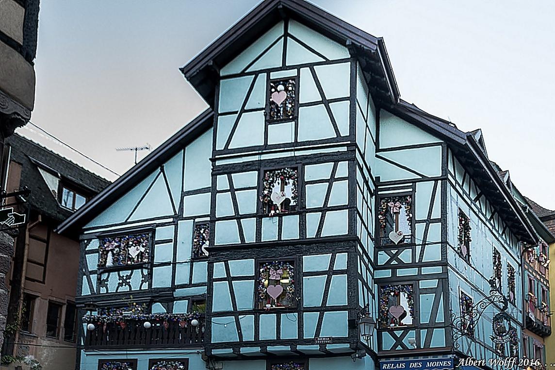 Marché de Noël  à Riquewihr - 1