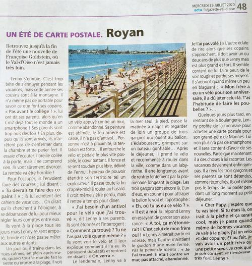 Un été de carte postale (1) - Royan