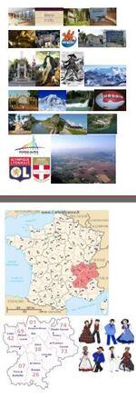 géographie : projet rallye cartes postales - découverte des régions françaises