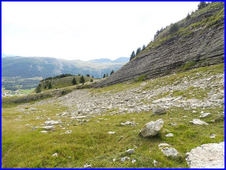 Devoluy, la cascade de Saute Aure et le vallon des Aiguilles