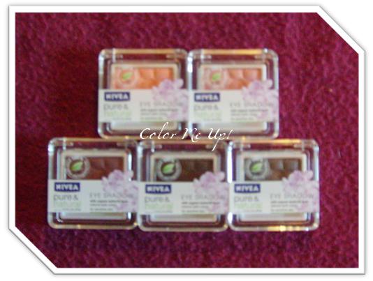 Pure & Natural fard à paupières Nivea