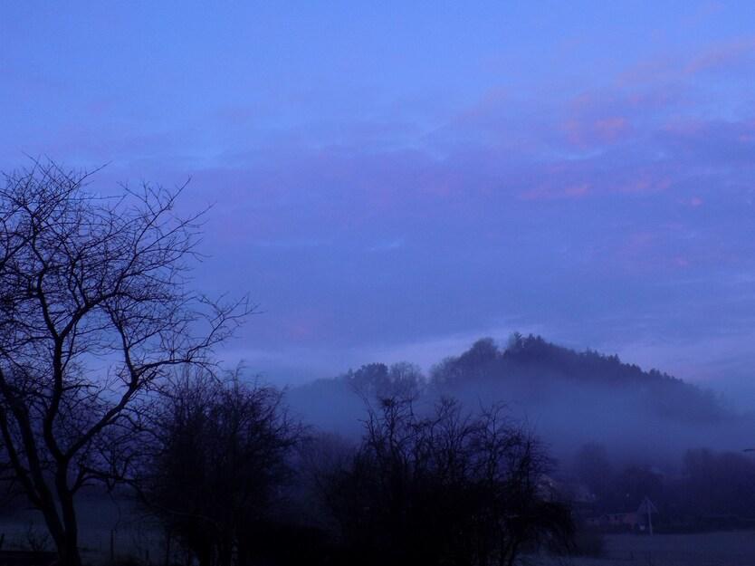 Le brouillard a tout pris...